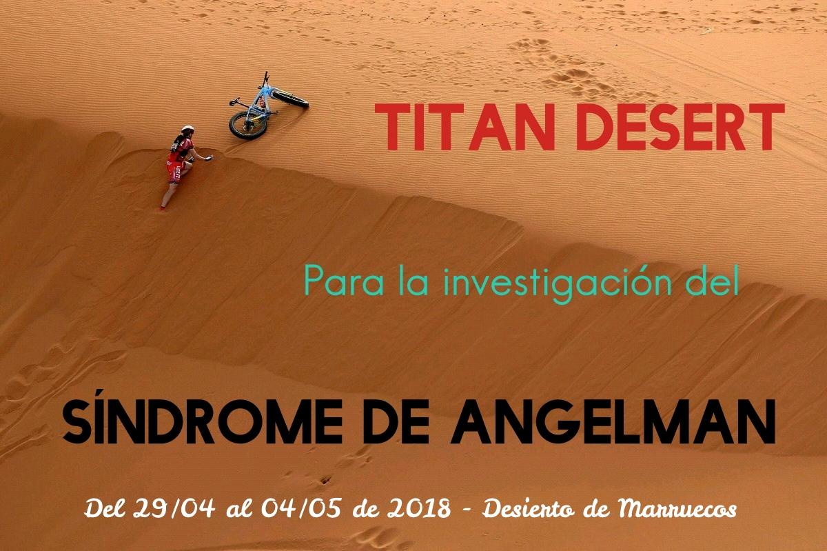 TITAN DESERT PARA LA INVESTIGACIÓN DEL SÍNDROME DE ANGELMAN